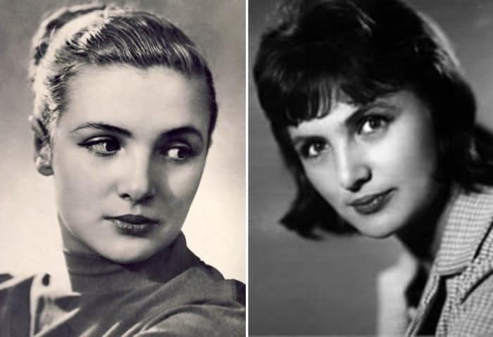 Актриса в молодости | Фото: biographe.ru, ruskino.ru