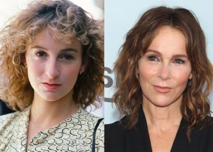 Дженнифер Грей до и после пластики | Фото: 300experts.ru