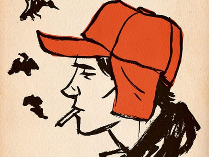 Иллюстрация к повести *Над пропастью во ржи* | Фото: radikal.ru