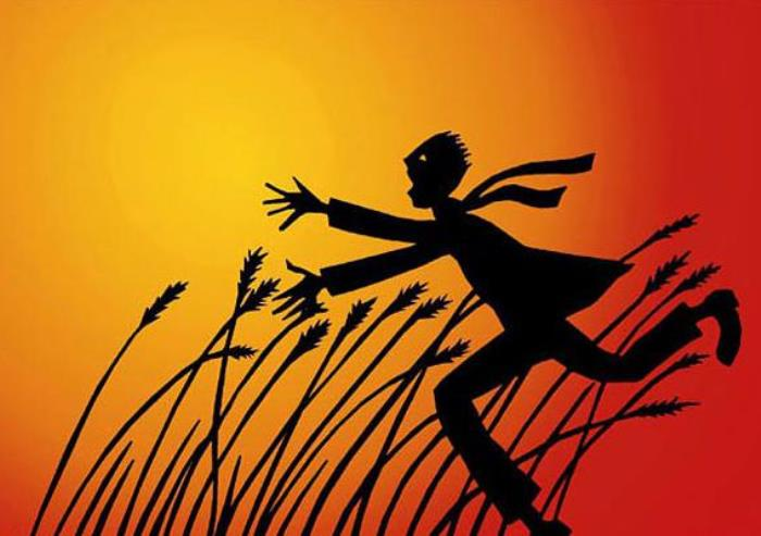 Иллюстрация к повести *Над пропастью во ржи* | Фото: syl.ru