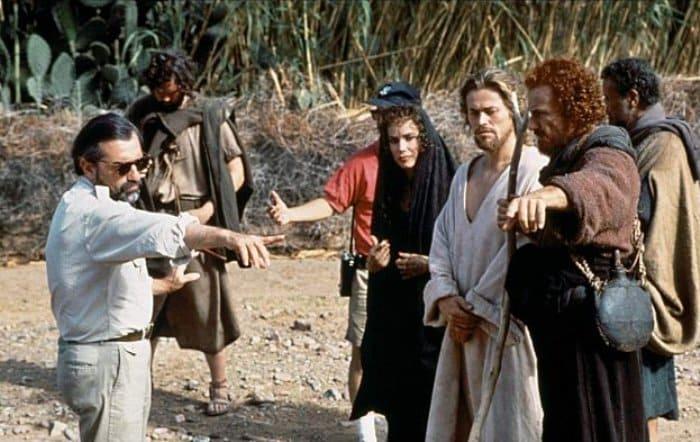 На съемках фильма *Последнее искушение Христа*, 1988 | Фото: anna-rulevskaya.livejournal.com