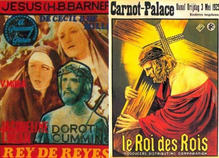 Постеры фильма *Царь Царей*, 1927 | Фото: kino-teatr.ru