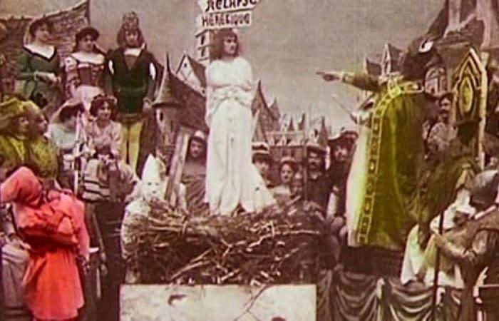 Кадр из фильма *Жанна Д'Арк*, 1899 | Фото: luciacaruso.com