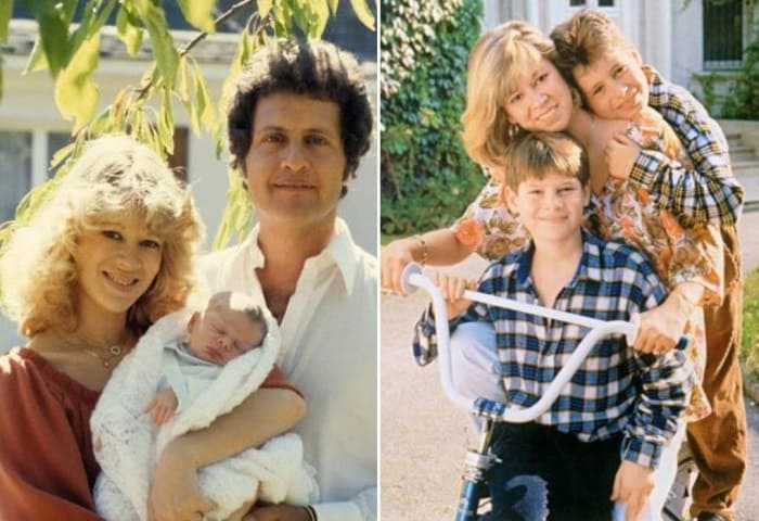Джо Дассен с женой и детьми | Фото: jew-observer.com и orpheusmusic.ru