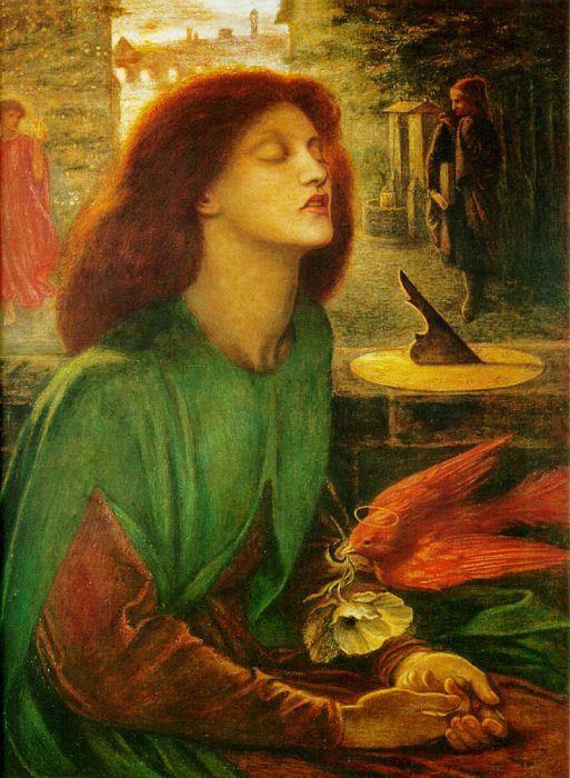 Данте Габриэль Россетти. Благочестивая Беатриче, 1864-1870