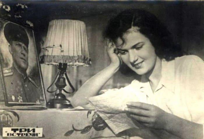 Кадр из фильма *Три встречи*, 1948 | Фото: kino-teatr.ru