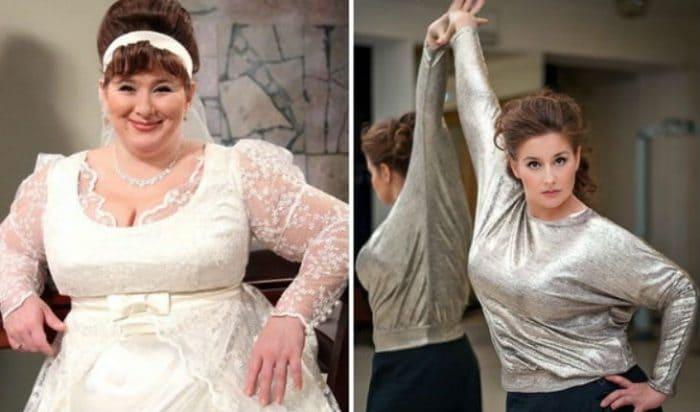 Юлия Куварзина до и после преображения   Фото: uznayvse.ru