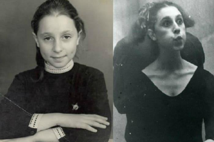 Юлия Рутберг в детстве и в юности | Фото: 24smi.org
