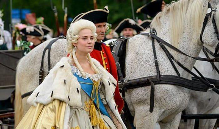 Юлия Снигирь в роли Екатерины II, 2015 | Фото: uznayvse.ru