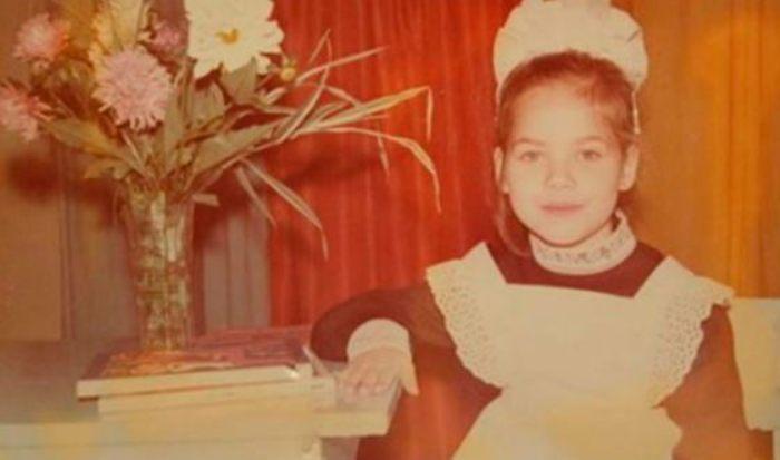 Юлия Снигирь в детстве | Фото: uznayvse.ru