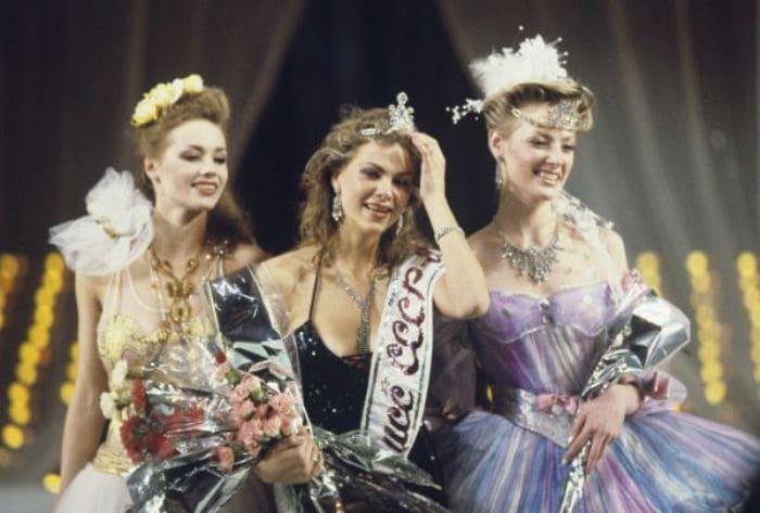 Участницы конкурса красоты *Мисс СССР-1989* | Фото: startface.net
