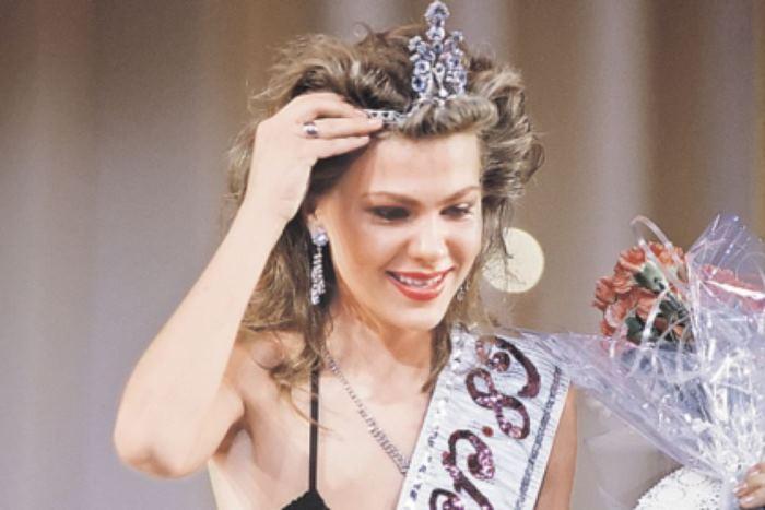 Победительница конкурса красоты *Мисс СССР-1989* Юлия Суханова | Фото: startface.net