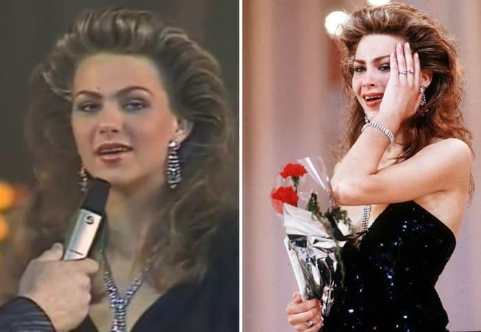 Первая *Мисс СССР* Юлия Суханова, 1989 | Фото: irgp2.ru