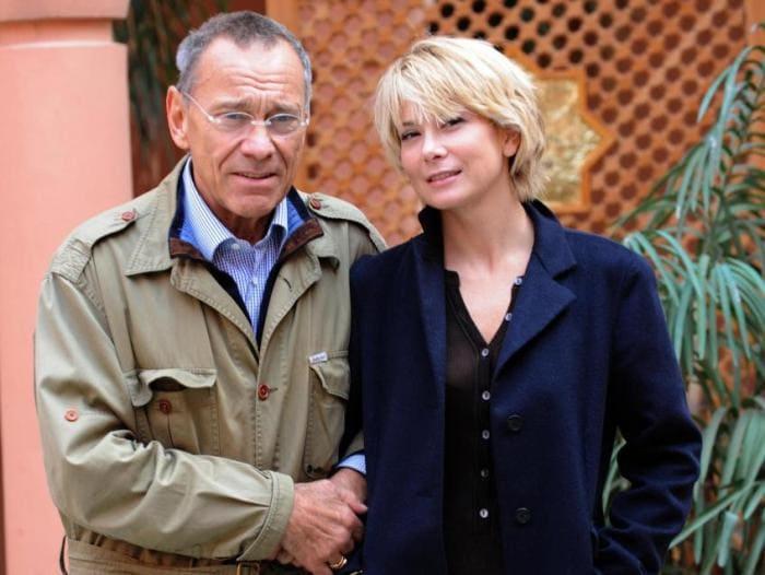 Юлия Высоцкая и Андрей Кончаловский | Фото: peopletalk.ru