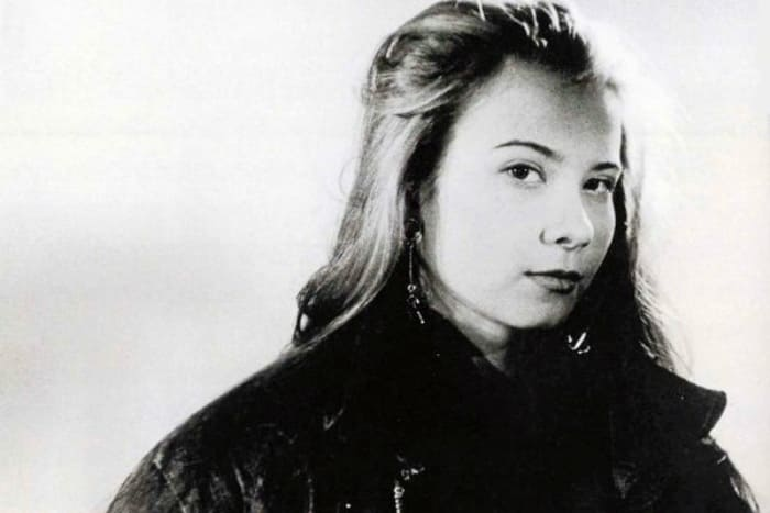 Юлия Высоцкая в начале 1990-х гг. | Фото: starhit.ru