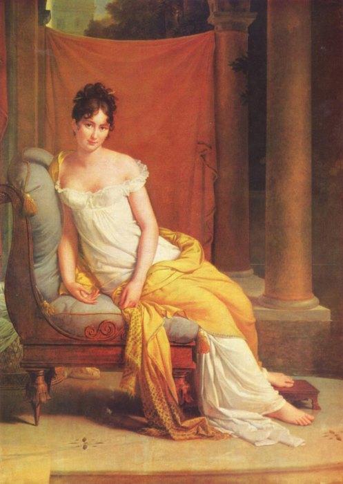 Франсуа Жерар. Портрет мадам Рекамье, 1805