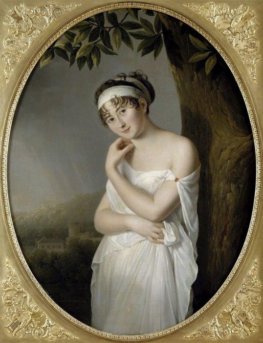 Олали Морин. Портрет мадам Рекамье