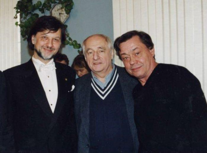 Алексей Рыбников, Марк Захаров и Николай Караченцов | Фото: uznayvse.ru