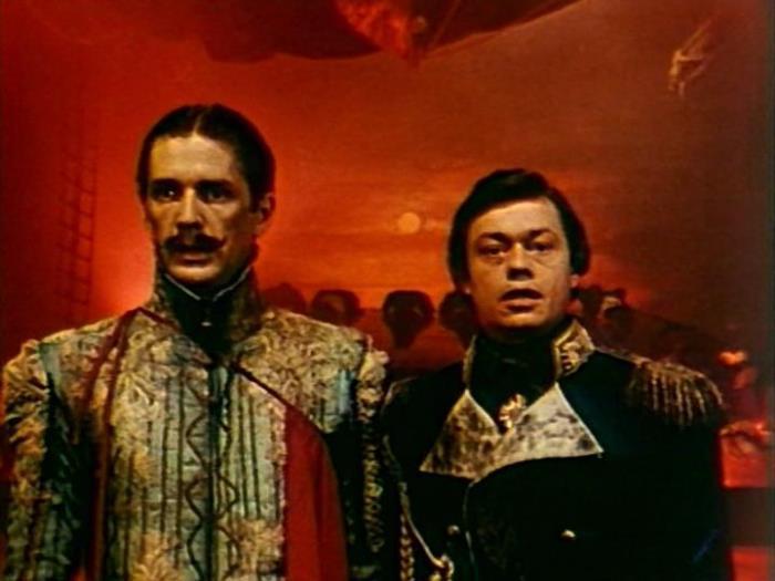 А. Абдулов и Н. Караченцов в рок-опере *Юнона и Авось*, 1983   Фото: kino-teatr.ru