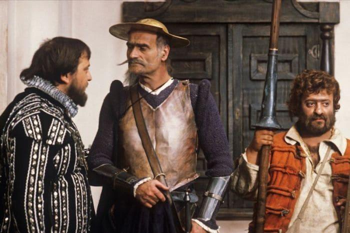 Кадр из фильма *Житие Дон Кихота и Санчо*, 1988 | Фото: rg.ru