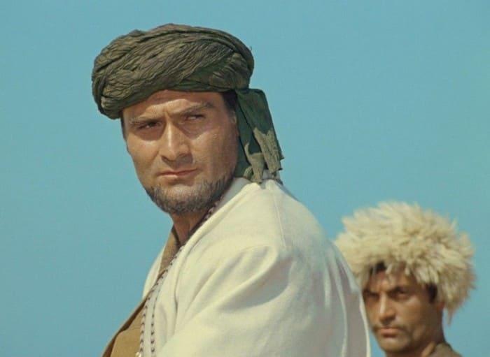 Кахи Кавсадзе в роли Абдуллы в фильме *Белое солнце пустыни*, 1969 | Фото: starhit.ru