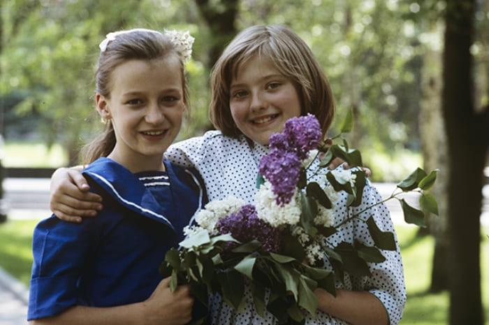 Катя Лычева и ее американская подруга Стар Роу | Фото: aif.ru
