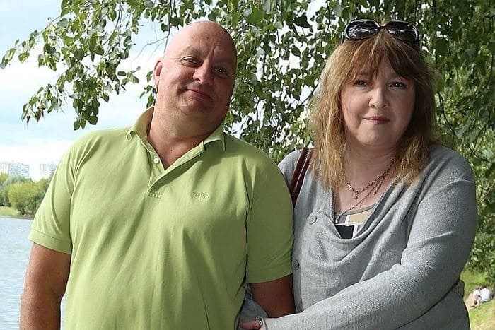 Екатерина Семенова со вторым мужем, юмористом Михаилом Церишенко | Фото: kp.ru