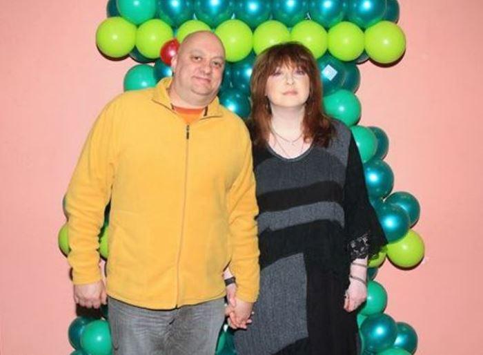 Екатерина Семенова со вторым мужем, юмористом Михаилом Церишенко | Фото: gordonua.com