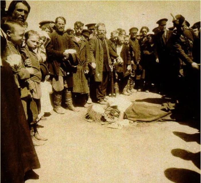 Жертва Ходынской трагедии