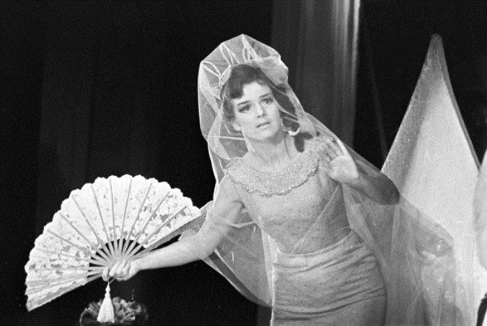 Артистка Юлия Борисова в роли принцессы Турандот