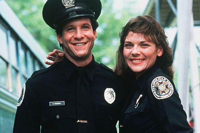 Ким Кэттролл в сериале *Полицейская академия*, 1984 | Фото: kino-teatr.ru