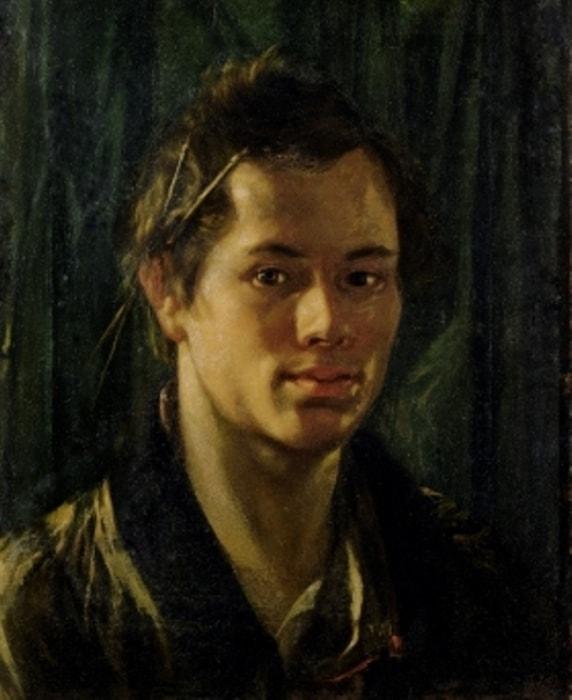 О. Кипренский. Автопортрет, 1809 | Фото: tretyakovgallery.ru