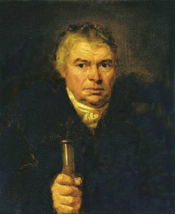 О. Кипренский. Портрет А. К. Швальбе (Портрет отца), 1804 | Фото: gallerix.ru