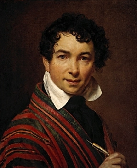 О. Кипренский. Автопортрет, 1828 | Фото: tretyakovgallery.ru