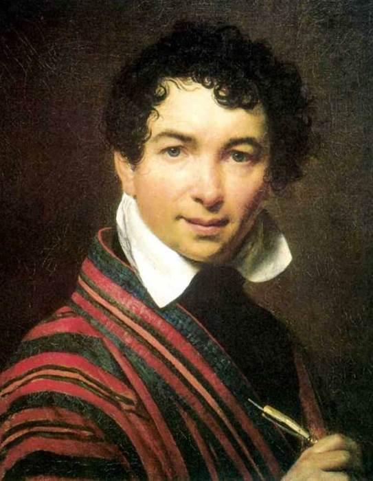 Орест Кипренский. Автопортрет, 1828