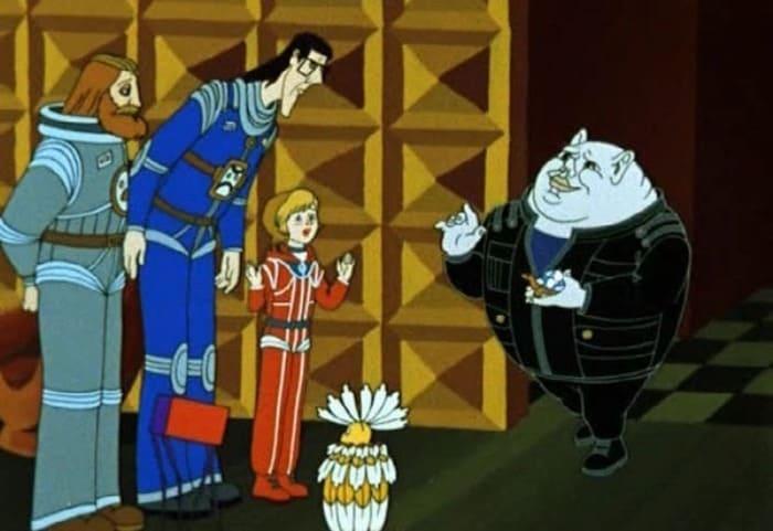 Кир Булычев стал автором сценария мультфильма *Тайна третьей планеты*, 1981 | Фото: shkolazhizni.ru