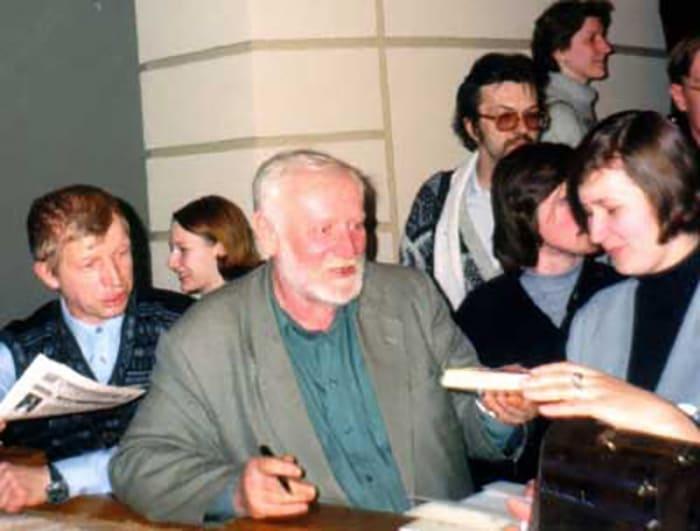 Кир Булычев на встрече с читателями | Фото: 24smi.org