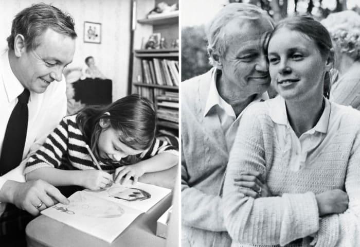 Актер с дочерью Марией | Фото: rewizor.ru, tele.ru