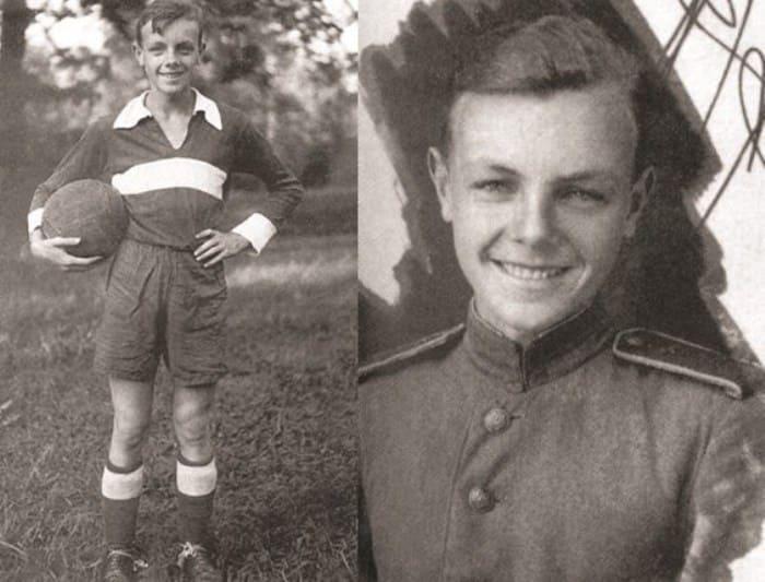 Кирилл Лавров в юности | Фото: rewizor.ru