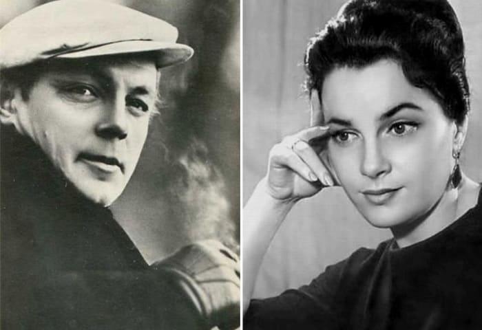 Кирилл Лавров и Элина Быстрицкая | Фото: kino-teatr.ru