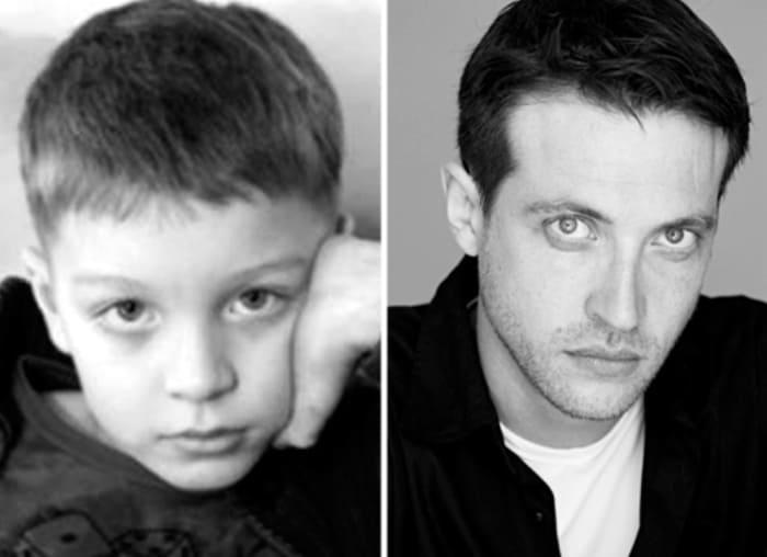 Кирилл Сафонов в детстве и в молодости | Фото: wellnesso.ru