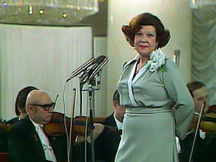 Юбилейный концерт Шульженко, 1976 г.   Фото: intoclassics.net