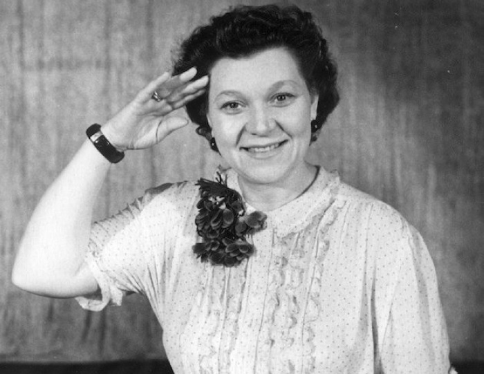 Ее голос стал символом военной эпохи   Фото: muslib.ru
