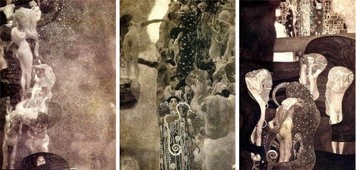 Г. Климт. Картины для университета. Фотографии | Фото: gklimt.ru