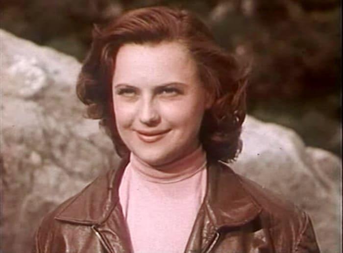 Инна Кмит в фильме *Новый аттракцион*, 1957 | Фото: kino-teatr.ru