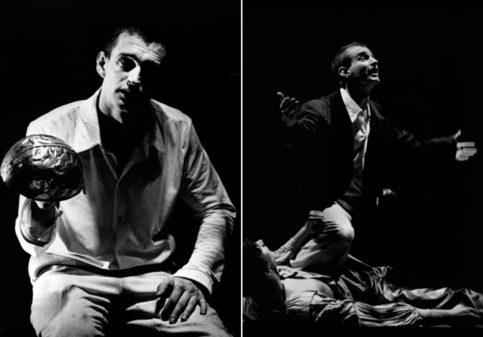 Константин Хабенский в спектакле *Калигула*, 1998 | Фото: seance.ru