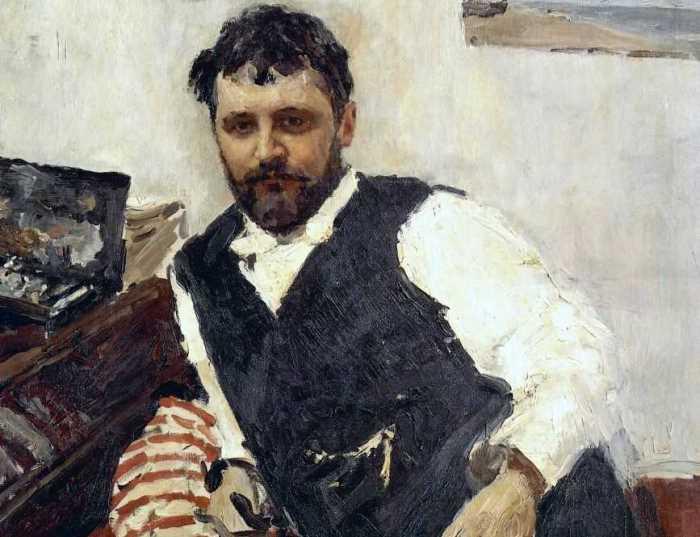 В. Серов. Портрет художника К. А. Коровина, 1891. Фрагмент | Фото: aria-art.ru