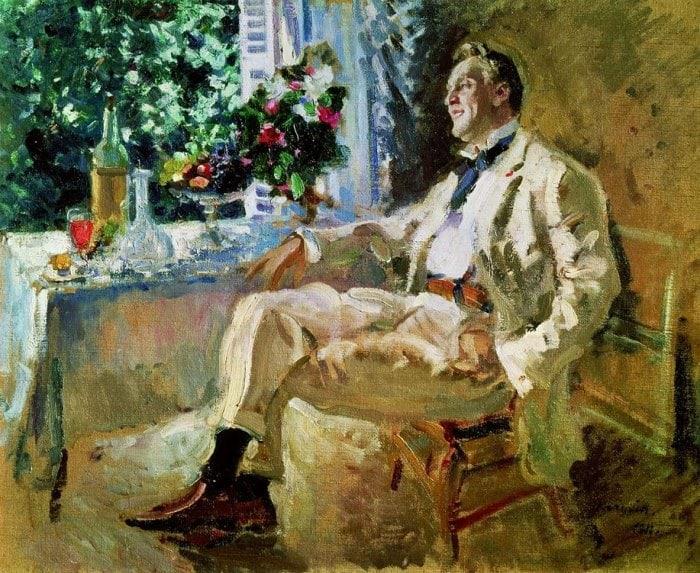 К. Коровин. Федор Шаляпин, 1915 | Фото: arthistory.ru