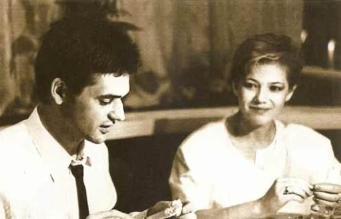 Актер с женой, Лидией Петраковой | Фото: stuki-druki.com