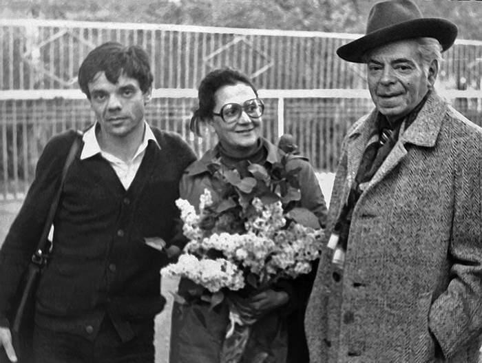 Константин Райкин с сестрой и отцом   Фото: kommersant.ru